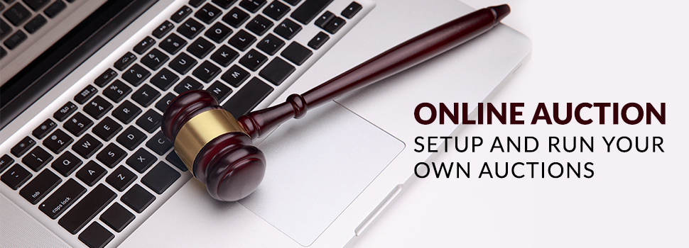 Online Auction – Setup and Run Your Own Auctions