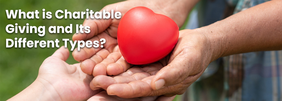 What is Charitable Giving and Its Different Types?